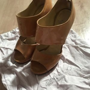 Jimmy Choo nude patent Privates